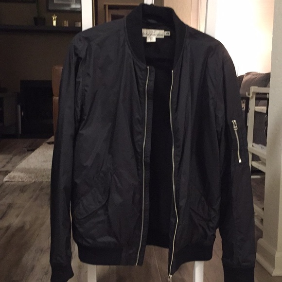 b796767b8 Men's H&M Black Bomber Jacket